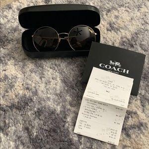 Coach round sunglasses